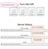支持VPN的美国VPS主机